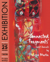 "Opening exhibition ""Connected Fragments"" by Philippe Martin"